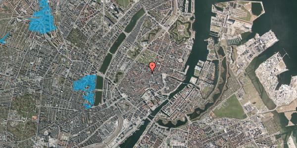 Oversvømmelsesrisiko fra vandløb på Pilestræde 50, 3. , 1112 København K