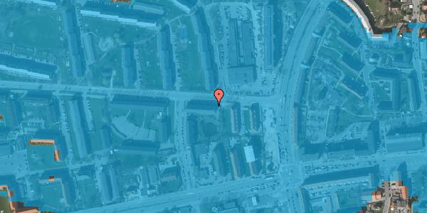 Oversvømmelsesrisiko fra vandløb på Stadionvej 13A, 2. tv, 2600 Glostrup