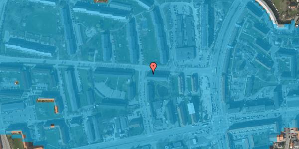 Oversvømmelsesrisiko fra vandløb på Stadionvej 13D, st. tv, 2600 Glostrup