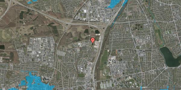 Oversvømmelsesrisiko fra vandløb på Stisager 38, 2600 Glostrup