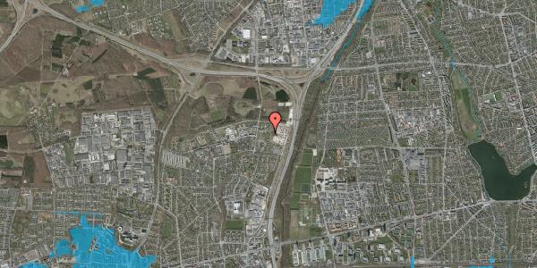 Oversvømmelsesrisiko fra vandløb på Stisager 76, 2600 Glostrup