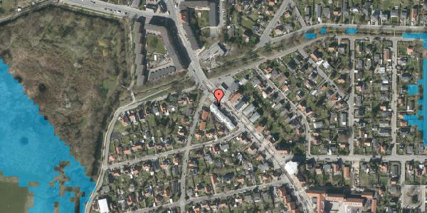 Oversvømmelsesrisiko fra vandløb på Frederiksborgvej 213C, 2400 København NV