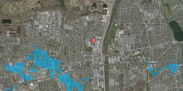 Oversvømmelsesrisiko fra vandløb på Hvissingevej 67, 2600 Glostrup