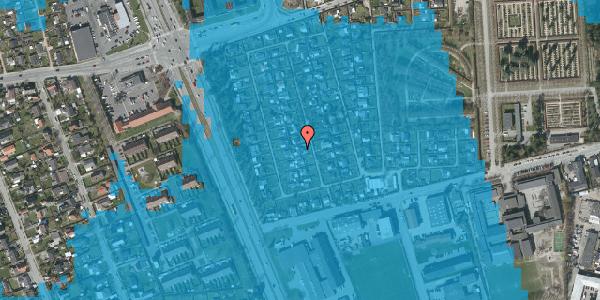 Oversvømmelsesrisiko fra vandløb på Hf. Svarø 47, 2650 Hvidovre