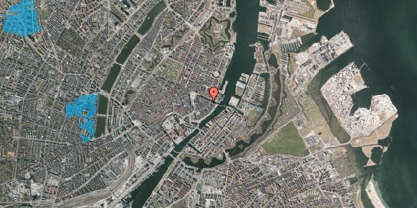 Oversvømmelsesrisiko fra vandløb på Holbergsgade 23, 1057 København K