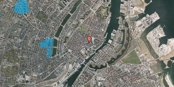 Oversvømmelsesrisiko fra vandløb på Nikolaj Plads 10, 1. , 1067 København K