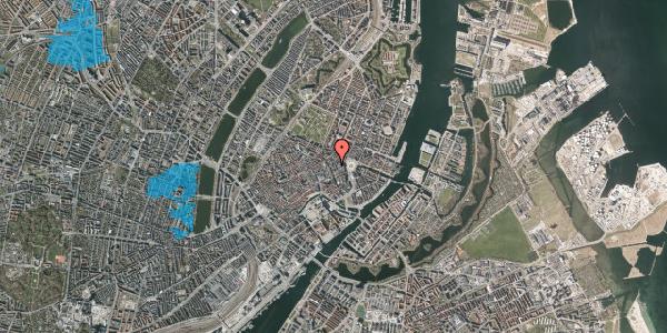 Oversvømmelsesrisiko fra vandløb på Østergade 24B, 4. tv, 1100 København K