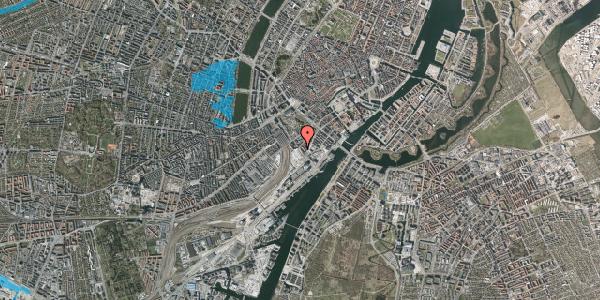 Oversvømmelsesrisiko fra vandløb på Bernstorffsgade 21, 1. , 1577 København V