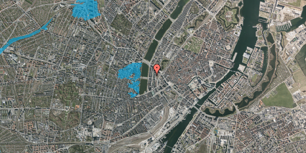 Oversvømmelsesrisiko fra vandløb på Nyropsgade 25, 2. , 1602 København V