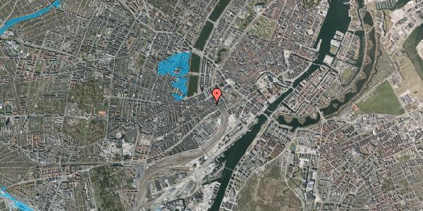 Oversvømmelsesrisiko fra vandløb på Istedgade 8A, 2. , 1650 København V