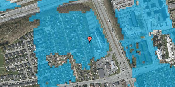 Oversvømmelsesrisiko fra vandløb på Hf. Kettehøj 118, 2650 Hvidovre