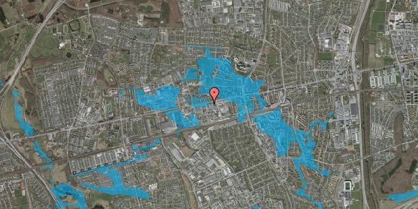 Oversvømmelsesrisiko fra vandløb på Hermods Allé 6B, 2600 Glostrup