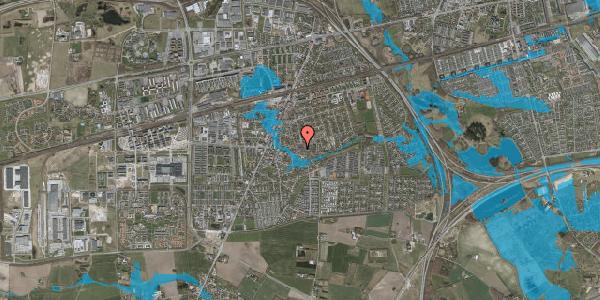 Oversvømmelsesrisiko fra vandløb på Valbyvej 47D, st. 7, 2630 Taastrup