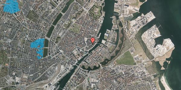 Oversvømmelsesrisiko fra vandløb på Holbergsgade 14, 3. tv, 1057 København K
