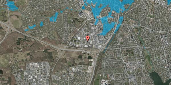 Oversvømmelsesrisiko fra vandløb på Ejby Industrivej 36, 1. , 2600 Glostrup