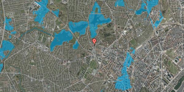 Oversvømmelsesrisiko fra vandløb på Efterslægtsvej 6C, 2400 København NV