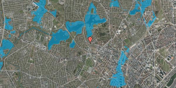 Oversvømmelsesrisiko fra vandløb på Efterslægtsvej 20A, 2400 København NV