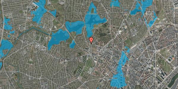 Oversvømmelsesrisiko fra vandløb på Efterslægtsvej 22D, 2400 København NV
