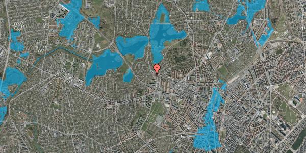 Oversvømmelsesrisiko fra vandløb på Efterslægtsvej 26, 2400 København NV