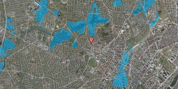 Oversvømmelsesrisiko fra vandløb på Efterslægtsvej 28A, 2400 København NV
