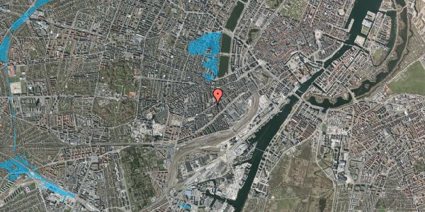 Oversvømmelsesrisiko fra vandløb på Istedgade 84B, 1650 København V