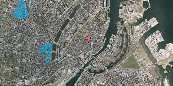 Oversvømmelsesrisiko fra vandløb på Grønnegade 1, 1107 København K