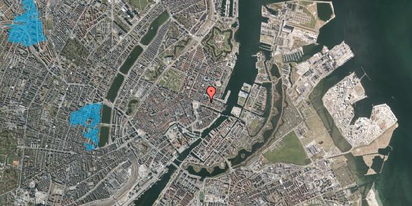 Oversvømmelsesrisiko fra vandløb på Nyhavn 11C, kl. , 1051 København K