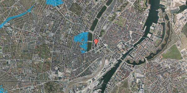 Oversvømmelsesrisiko fra vandløb på Nyropsgade 42, 12. , 1602 København V