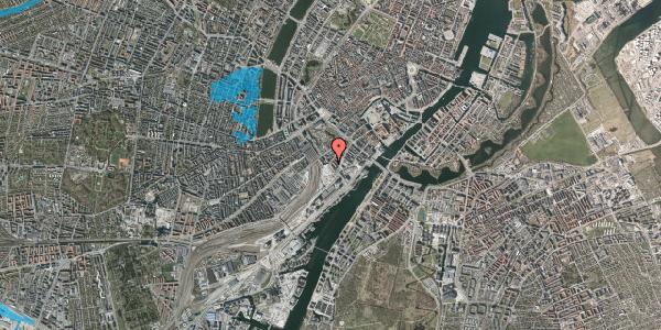 Oversvømmelsesrisiko fra vandløb på Stoltenbergsgade 11, 5. , 1576 København V