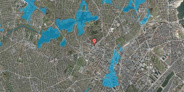 Oversvømmelsesrisiko fra vandløb på Dortheavej 34, 1. 4, 2400 København NV