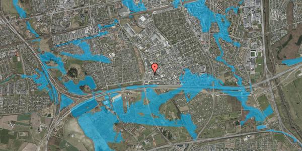 Oversvømmelsesrisiko fra vandløb på Jydekrogen 8, 2625 Vallensbæk