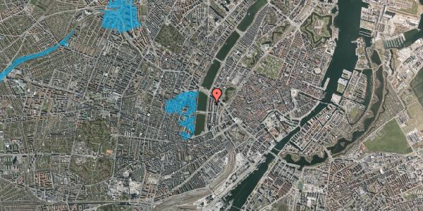 Oversvømmelsesrisiko fra vandløb på Nyropsgade 20, 3. , 1602 København V