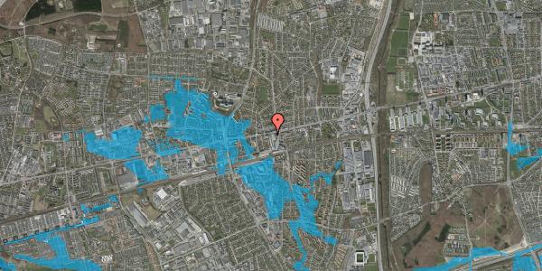 Oversvømmelsesrisiko fra vandløb på Glostrup Shoppingcenter 33, st. , 2600 Glostrup