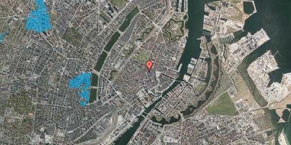 Oversvømmelsesrisiko fra vandløb på Sværtegade 6, 1. , 1118 København K