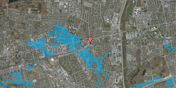 Oversvømmelsesrisiko fra vandløb på Glostrup Shoppingcenter 9, st. , 2600 Glostrup