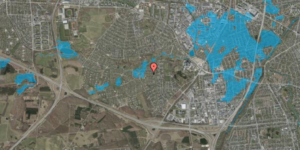 Oversvømmelsesrisiko fra vandløb på Vængedalen 517, 2600 Glostrup