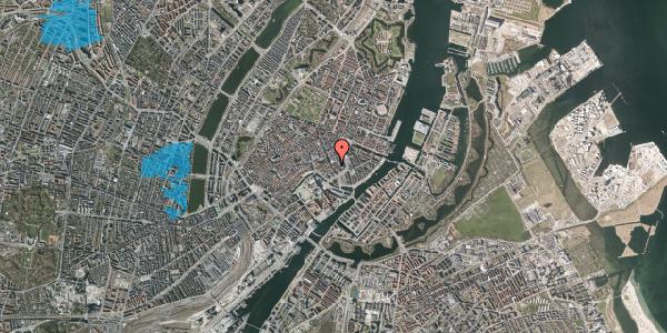 Oversvømmelsesrisiko fra vandløb på Dybensgade 6, 1. , 1071 København K