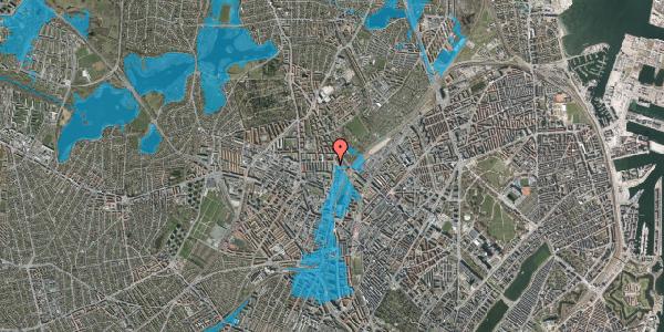 Oversvømmelsesrisiko fra vandløb på Bisiddervej 39, 4. tv, 2400 København NV