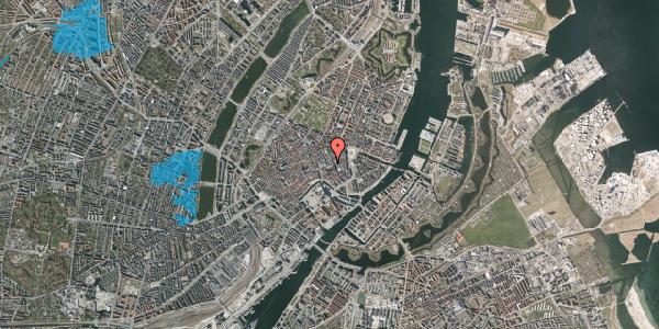 Oversvømmelsesrisiko fra vandløb på Østergade 42B, 2. , 1100 København K