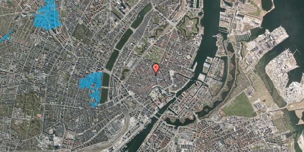 Oversvømmelsesrisiko fra vandløb på Valkendorfsgade 2C, 1151 København K