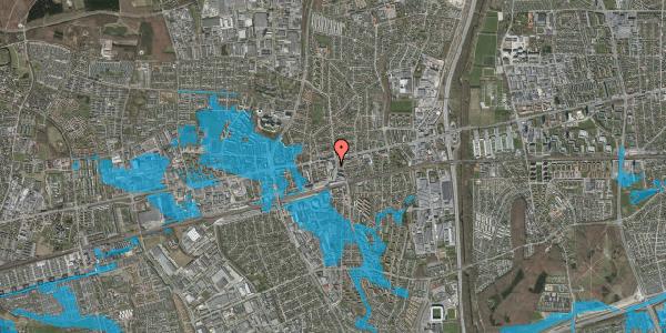 Oversvømmelsesrisiko fra vandløb på Glostrup Shoppingcenter 50, st. , 2600 Glostrup