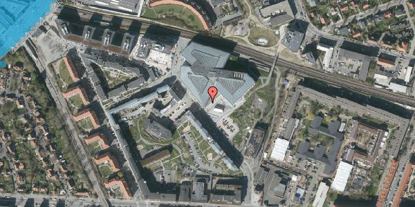 Oversvømmelsesrisiko fra vandløb på Marguerite Vibys Plads 3, 2. , 2000 Frederiksberg