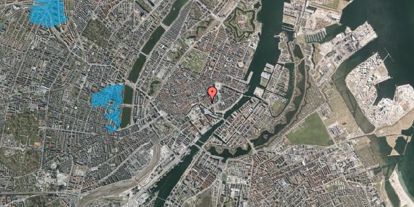 Oversvømmelsesrisiko fra vandløb på Admiralgade 25, 1. , 1066 København K