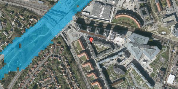Oversvømmelsesrisiko fra vandløb på Flintholm Alle 26, st. , 2000 Frederiksberg