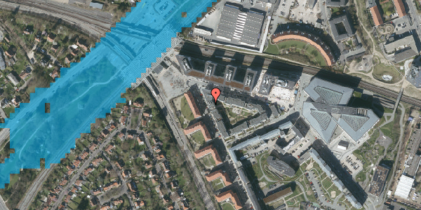 Oversvømmelsesrisiko fra vandløb på Flintholm Alle 26, kl. 2, 2000 Frederiksberg