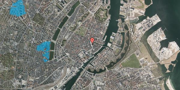 Oversvømmelsesrisiko fra vandløb på Kongens Nytorv 15, st. , 1050 København K