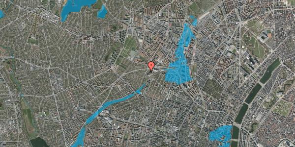Oversvømmelsesrisiko fra vandløb på Jordbærvej 113, 2400 København NV
