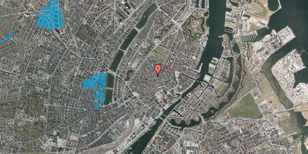 Oversvømmelsesrisiko fra vandløb på Gråbrødretorv 2, kl. , 1154 København K