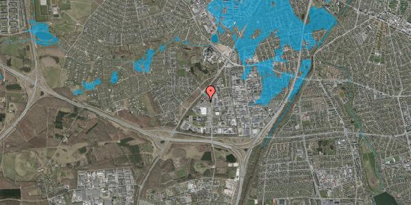 Oversvømmelsesrisiko fra vandløb på Ejby Industrivej 135A, 2600 Glostrup