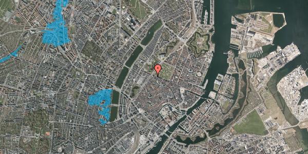 Oversvømmelsesrisiko fra vandløb på Rosenborggade 17, 4. , 1130 København K